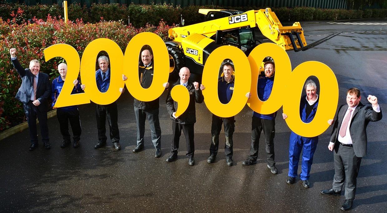 JCB:200 000