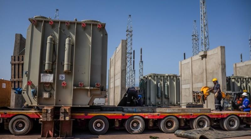 """Organisation et pilotage du transport et de la logistique d'équipements de postes électriques dans le cadre du projet """"Lake Turkana Wind Power"""" qui est le plus grand projet éolien mené en Afrique, au Kenya."""