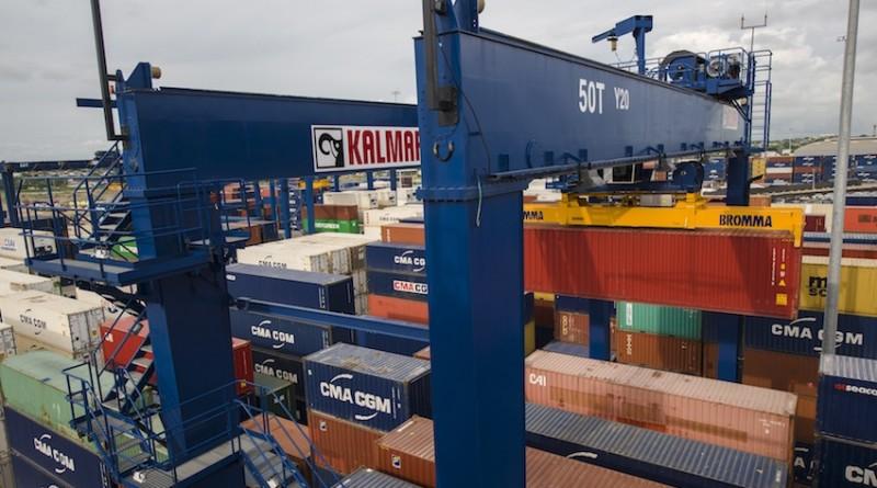 E-One2 RTG Contecar Container Terminal Cartagena Columbia