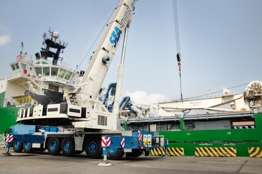 MTW News - Petro Sea Logistics invests in a Grove all-terrains and their aftermarket support1