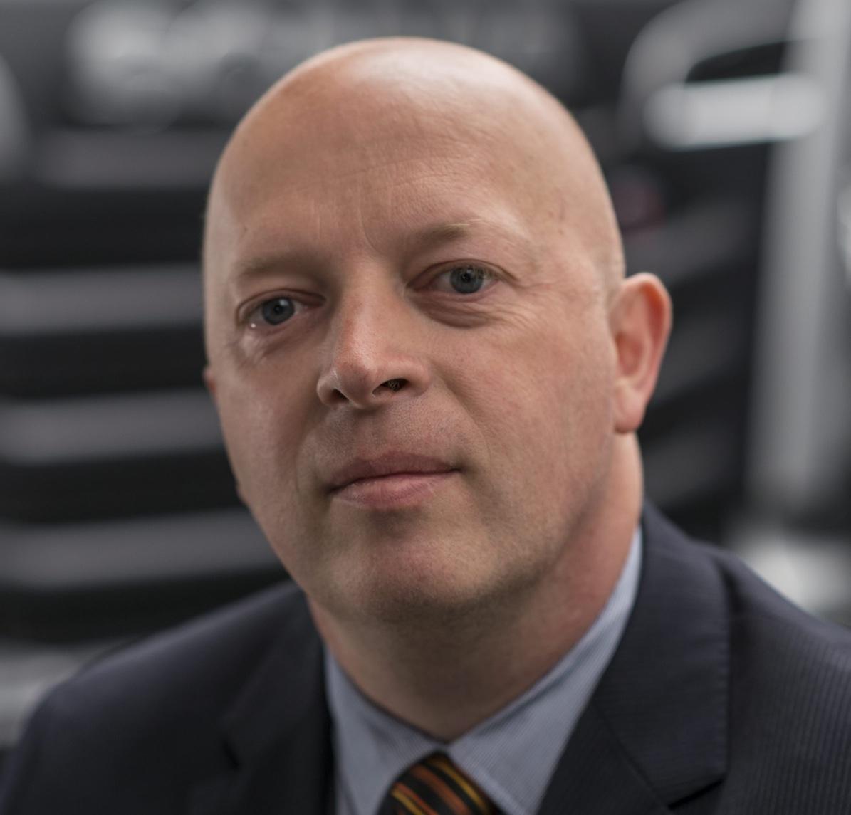 Koen Knoops, Senior Vice President, Financial Services. Photo: Dan Boman 2014