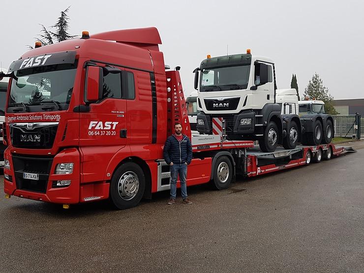un nouveau camion man pour fast