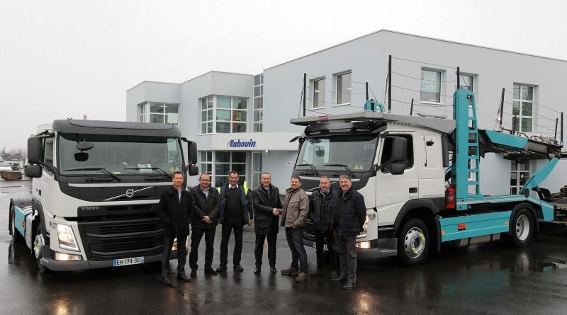 volvo trucks _ transports rabouin
