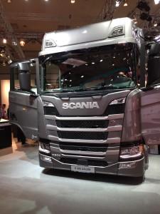 Scania exposait aux côtés des sociétés du nouveau  groupe Traton, MAN et Volkswagen notamment