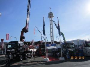 HMF a renforcé sa gamme dans le gros tonnage et développé une grue électrique