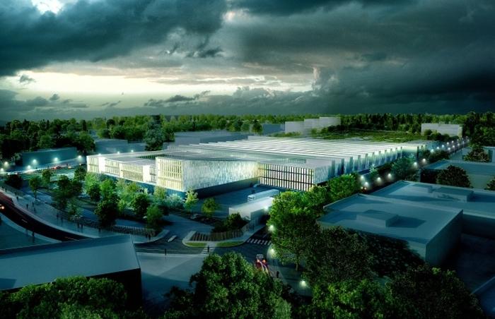 Projet du site de maintenance et de remisage (SMR) de Champigny.