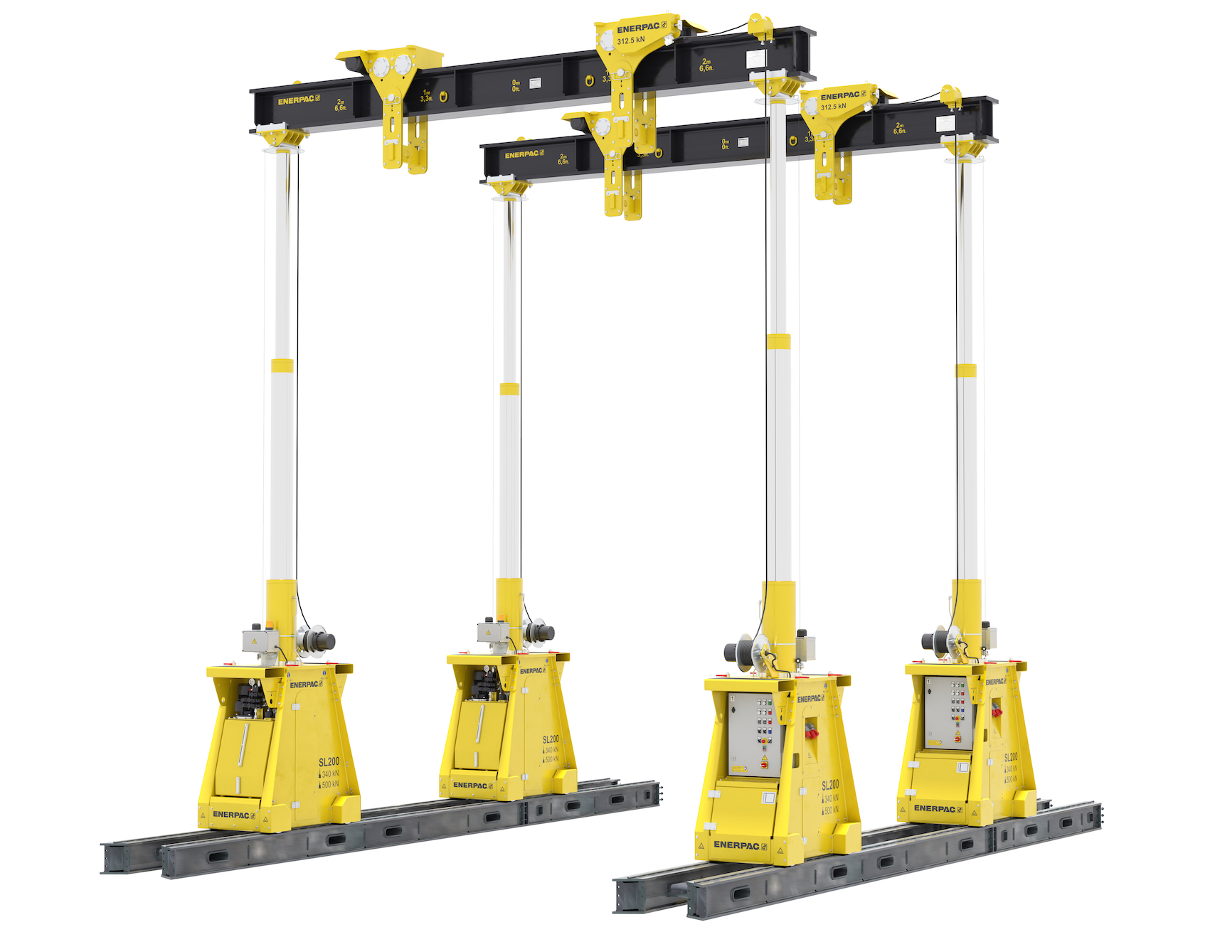 Enerpac SL100 and SL200 hydraulic gantry cropped - copie