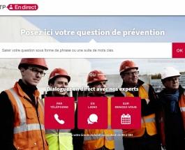 OPPBTP_PréventionBTP en direct_homepage