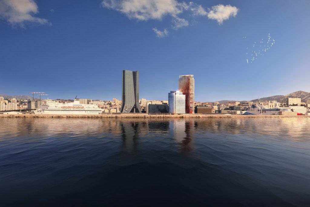 CMA-CGM construit une nouvelle tour à Marseille