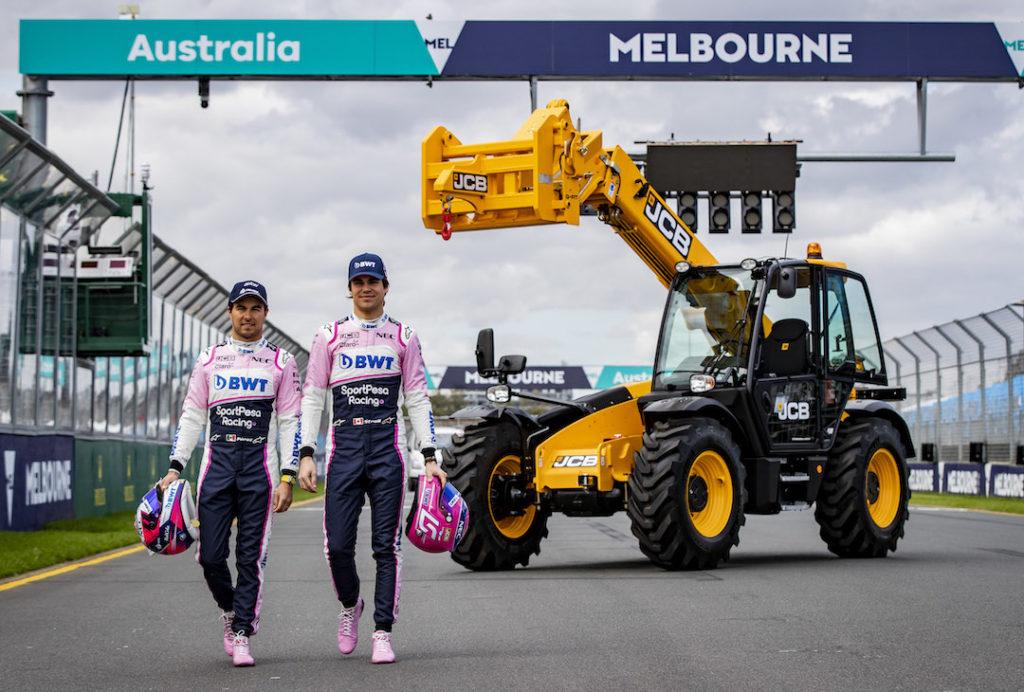 JCB au Grand Prix d'Australie