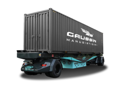Une flotte de véhicules Gaussin autonomes et électriques déployée près de Lille