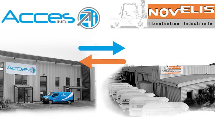 Accès Industrie s'empare de Novelis, spécialiste de la manutention