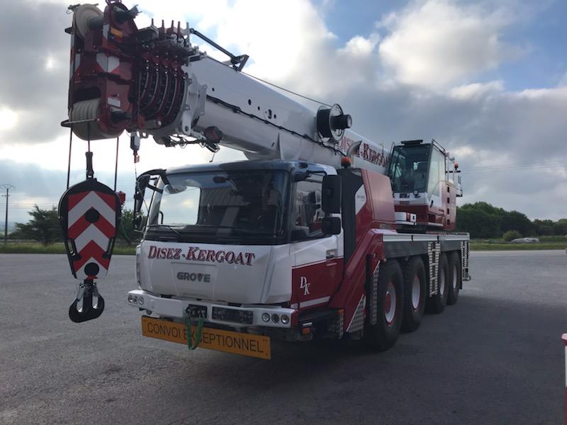 Une nouvelle 90 tonnes pour Disez Kergoat