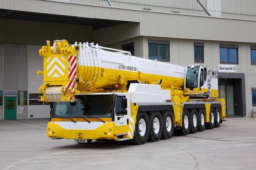 La nouvelle 450 tonnes de Mediaco rejoint Lyon