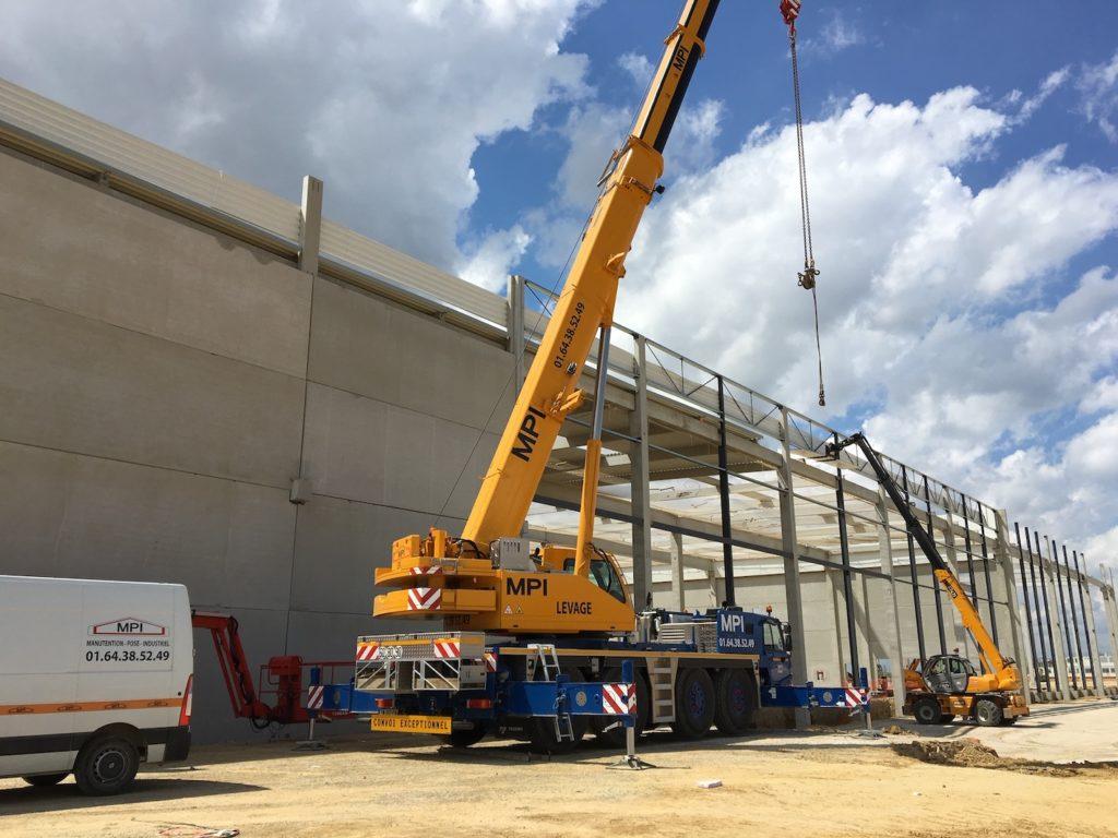Deux nouvelles 100 tonnes pour MPI
