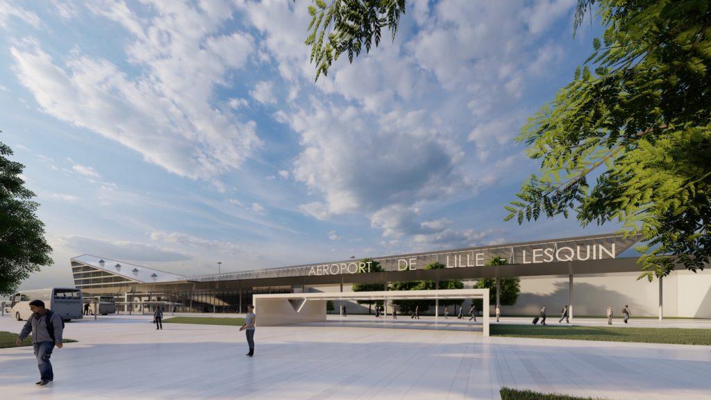 L'aéroport de Lille-Lesquin attribué à Eiffage et Aéroport Marseille-Provence