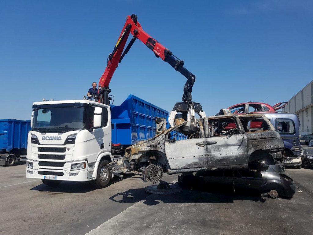 Scania livre un nouveau camion pour la collecte des déchets