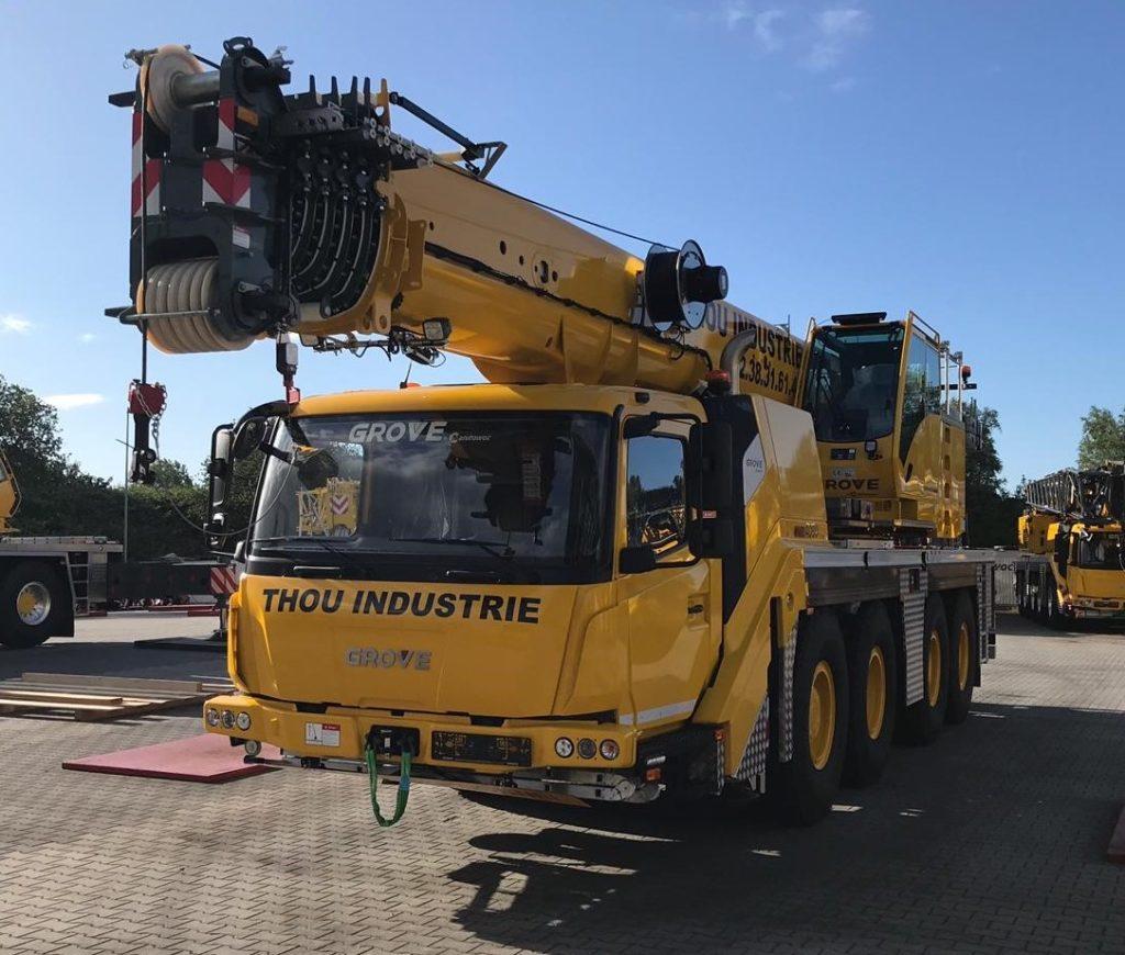 Une nouvelle GMK4090 pour Thou Industrie