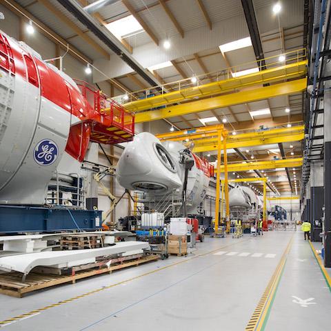 GE Renewable Energy démarre la production des éoliennes pour le parc offshore de Saint-Nazaire