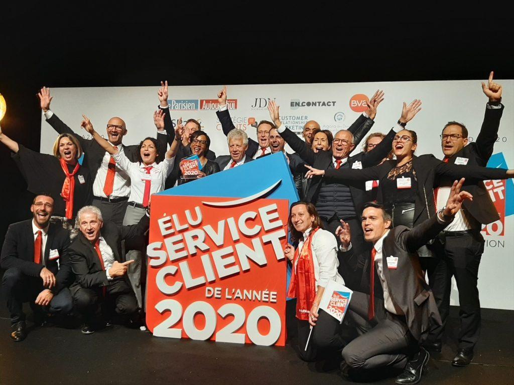 Loxam élu service client 2020 !