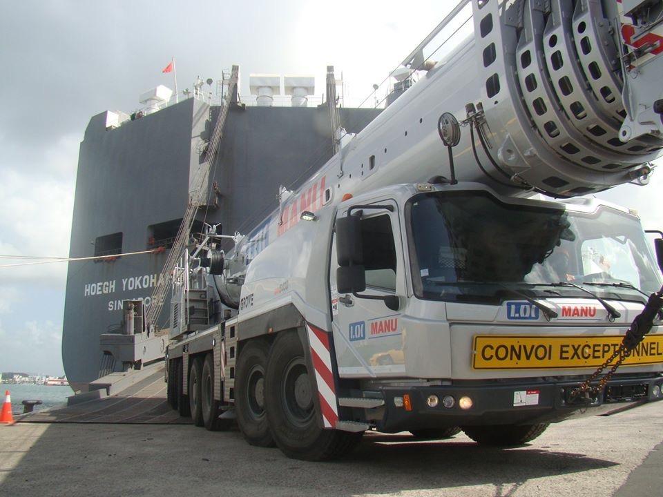 Une nouvelle 400 tonnes aux Antilles !