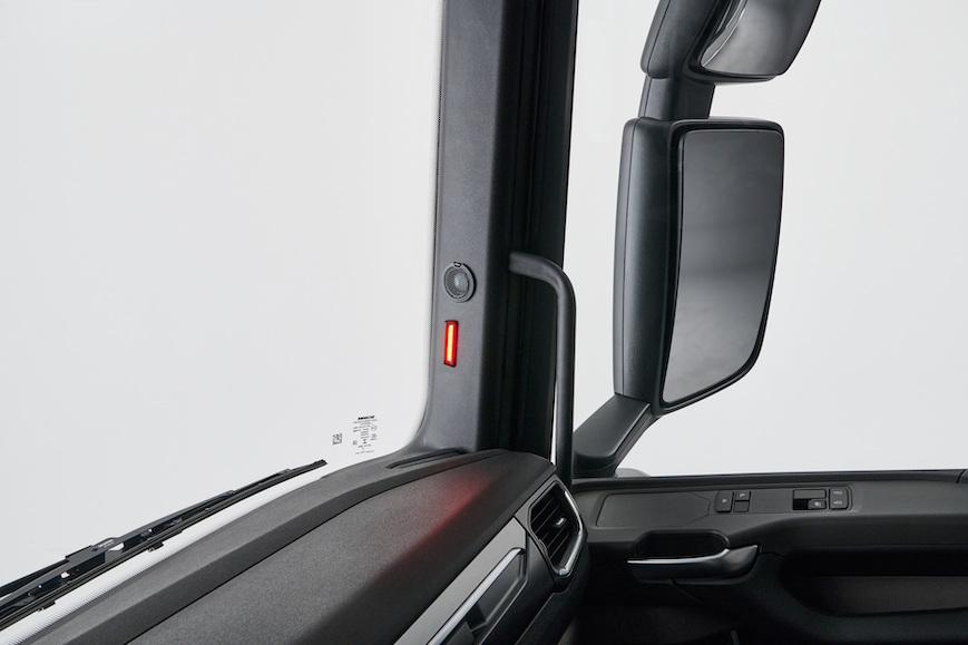 Les nouveaux systèmes de détection latérale des camions Scania