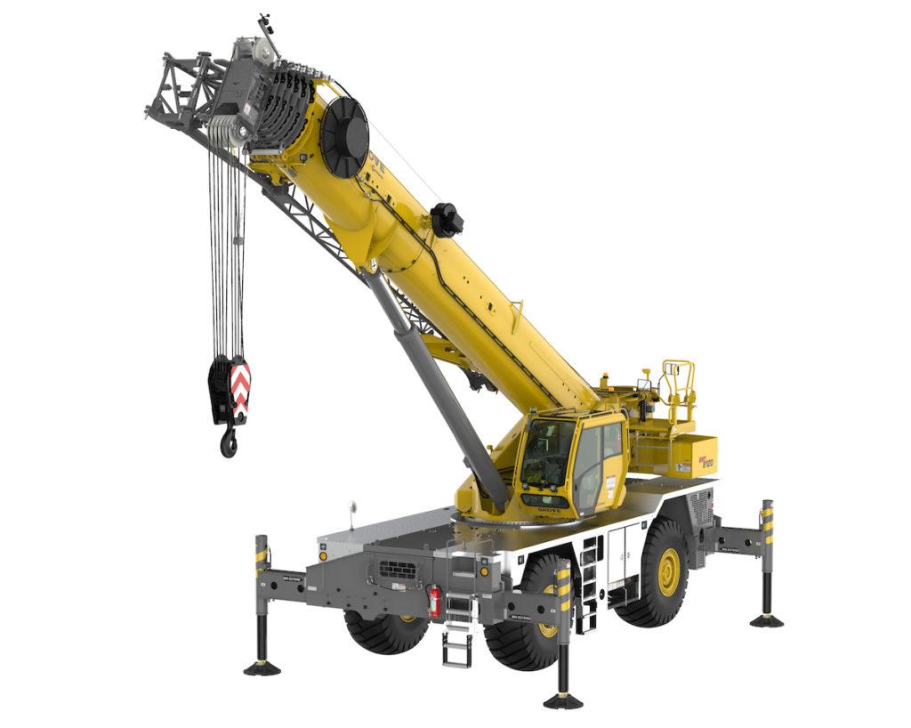 GRT8120, la nouvelle grue Grove pour les chantiers