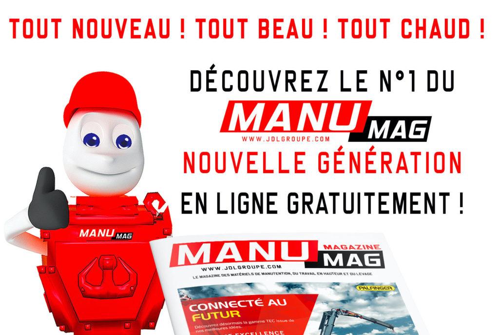 Manumag «nouvelle génération» en ligne !