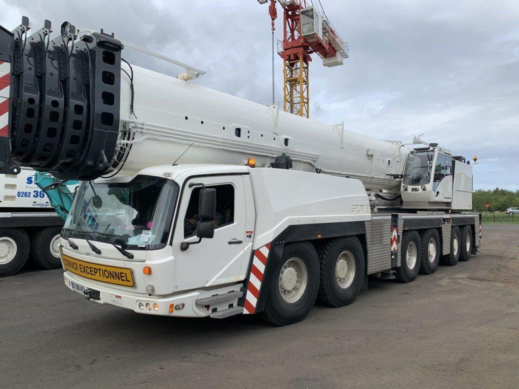 Une 400 tonnes Manitowoc pour La Réunion