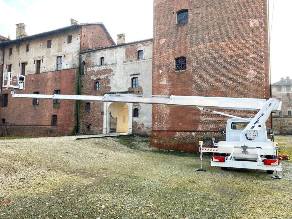 Une nouvelle nacelle télescopique de 23 m chez Multitel Pagliero
