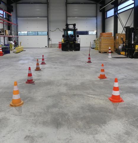 Trois nouveaux chariots Hyundai pour un centre de formation