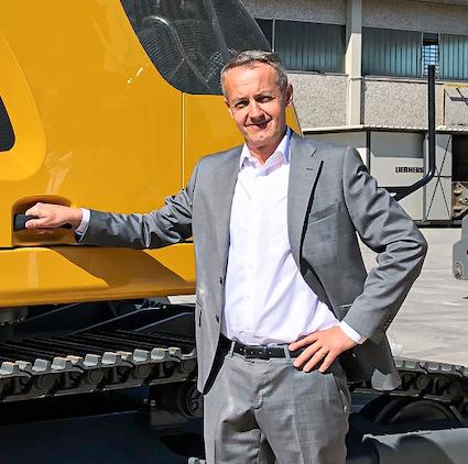 Un nouveau directeur général  pour Liebherr-Location France SAS