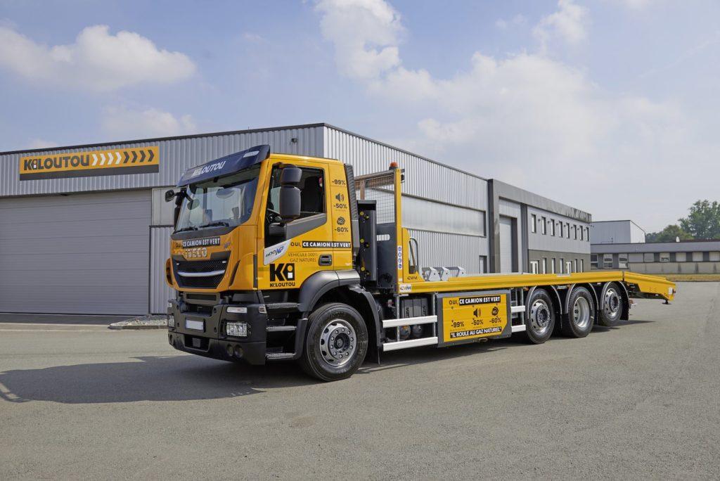 Kiloutou renforce sa flotte avec des porteurs GNC pour la livraison des matériels