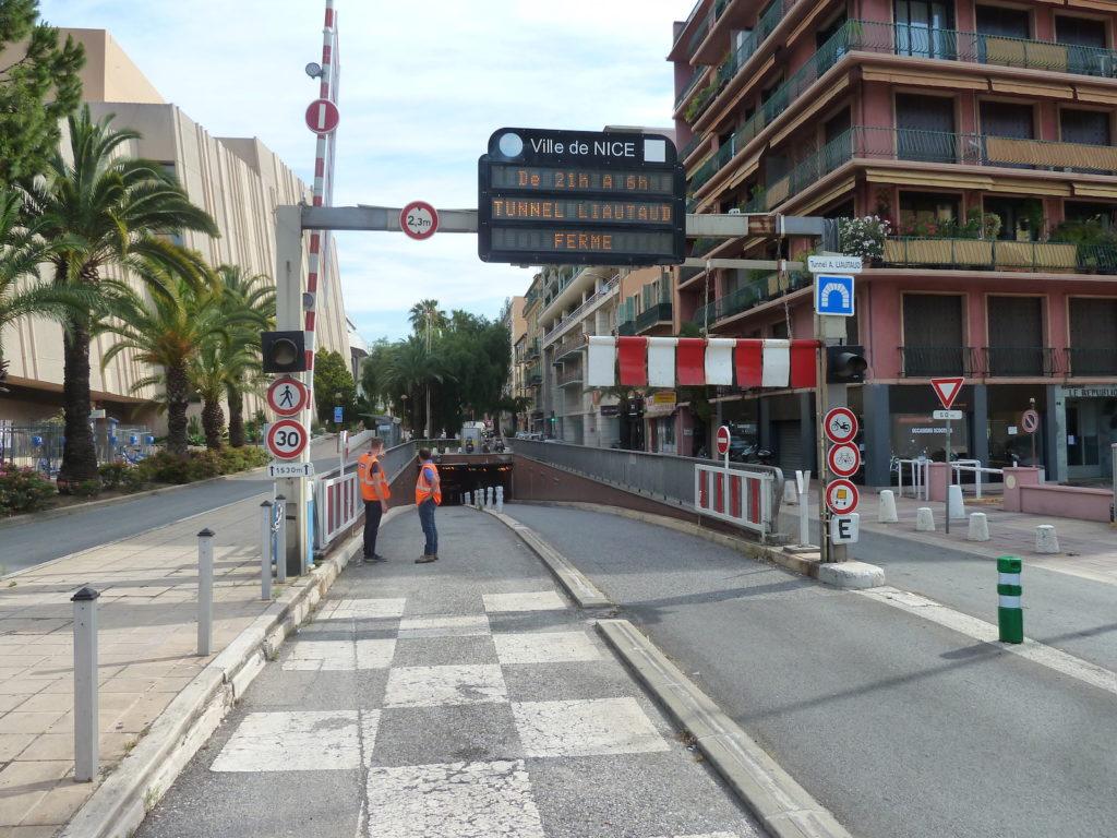 NGE met en conformité l'un des principaux tunnels routiers de Nice