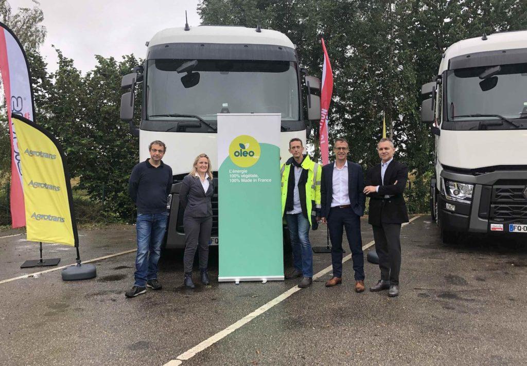 Clovis fournit des véhicules au biocarburant au groupe Avril