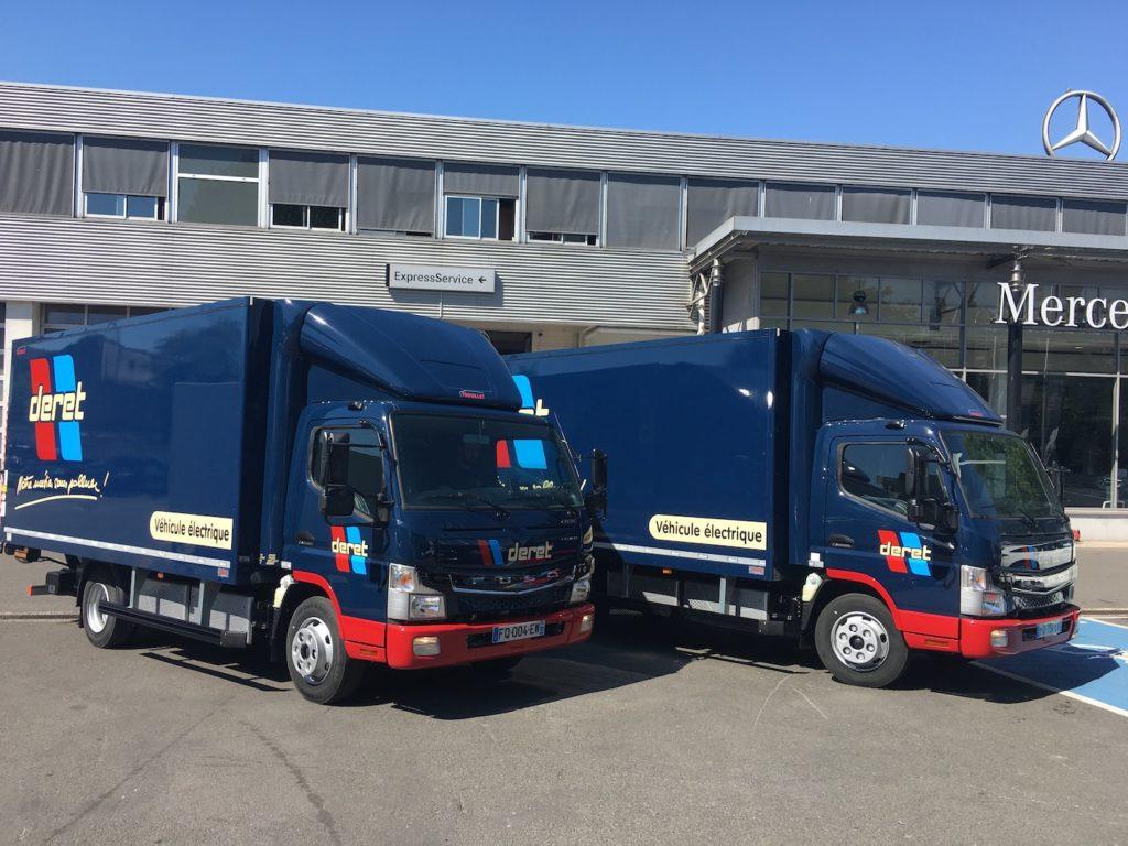 Les Transports Deret investissent dans deux nouveaux eCanter