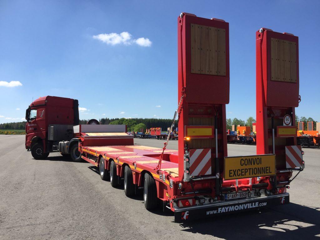 Une nouvelle 4 essieux surbaissée pour Vanden Buverie