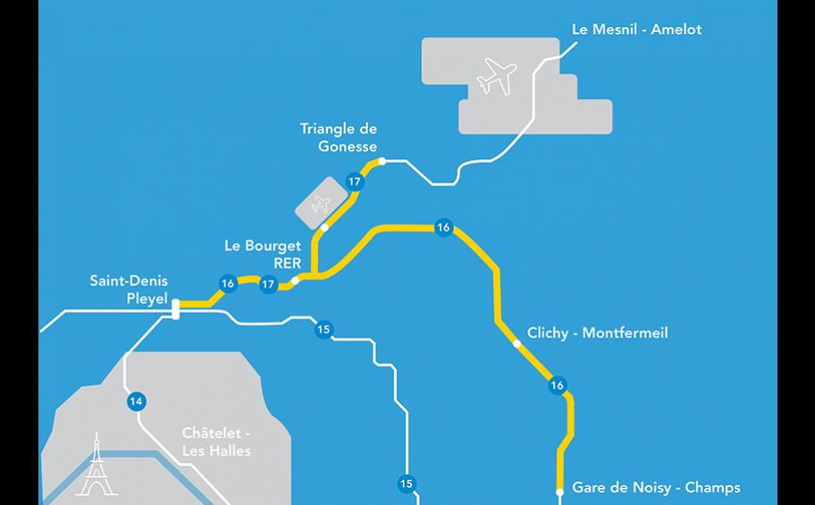 Un chantier de 58 millions d'euros pour la ventilation tunnels des lignes 16 et 17 du Grand Paris