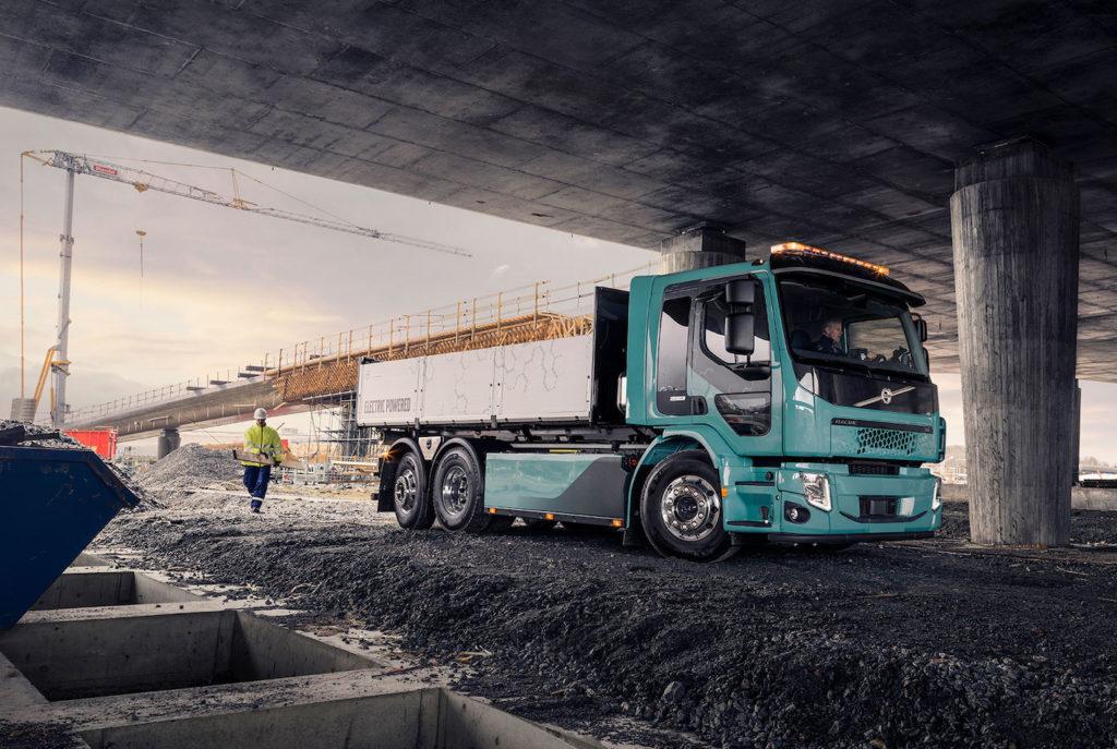 Eiffage commande le premier camion électrique de chantier Volvo Trucks