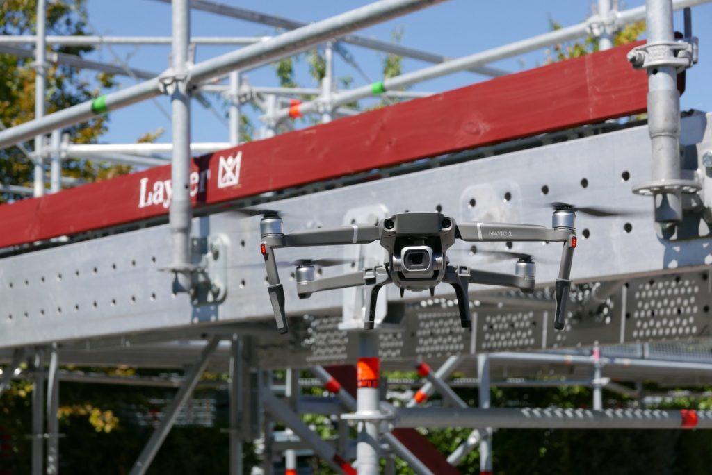 Layher se lance dans les drones