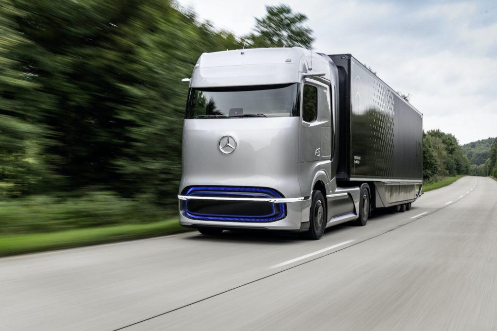 GenH2, le nouveau camion à pile à combustible de Daimler