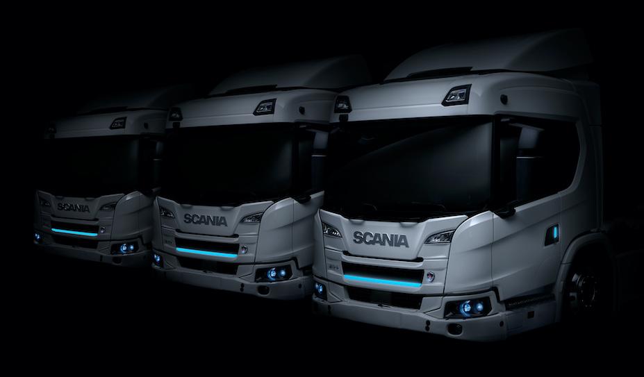 Scania lance sa gamme de camions électriques