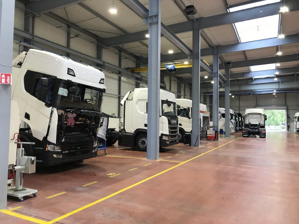 Scania France inaugure ses nouveaux locaux
