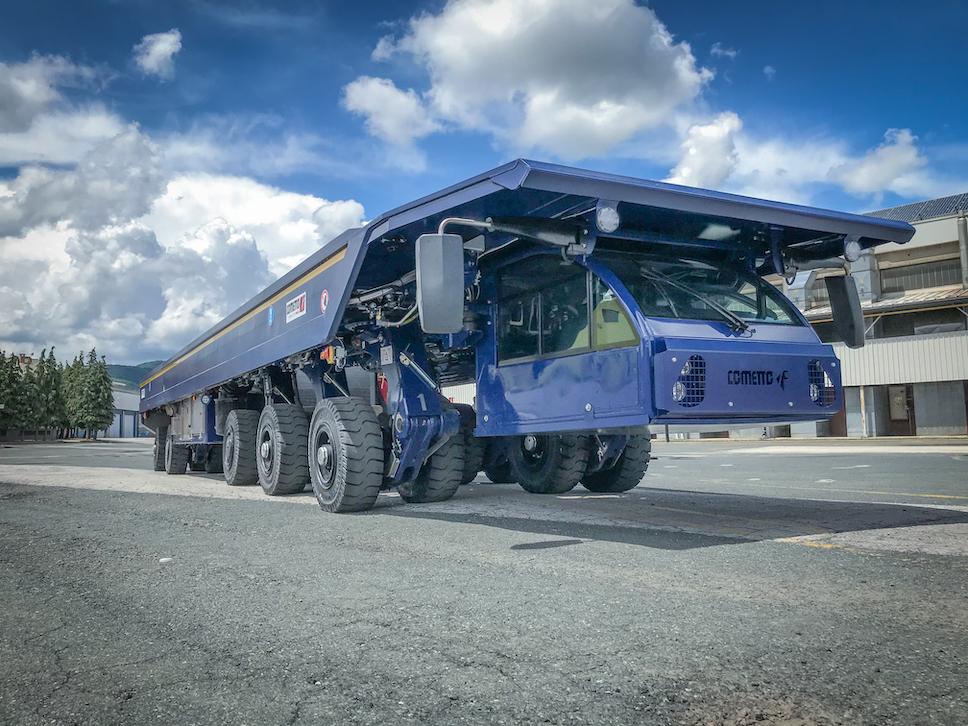 Le groupe Rave investit dans un nouveau véhicule Cometto