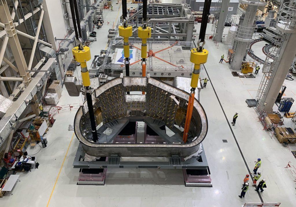 Sur Iter, les systèmes Enerpac pour l'assemblage de la cuve