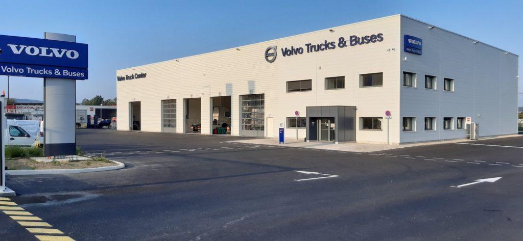 Le réseau Volvo Trucks évolue