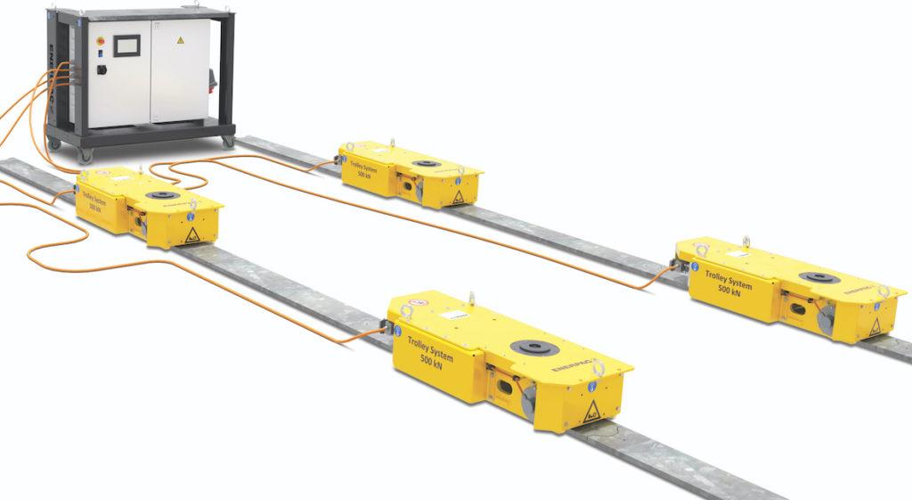 Enerpac développe de nouveaux systèmes de manutention électriques