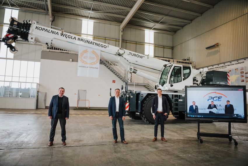 40000 grues mobiles livrées par Liebherr