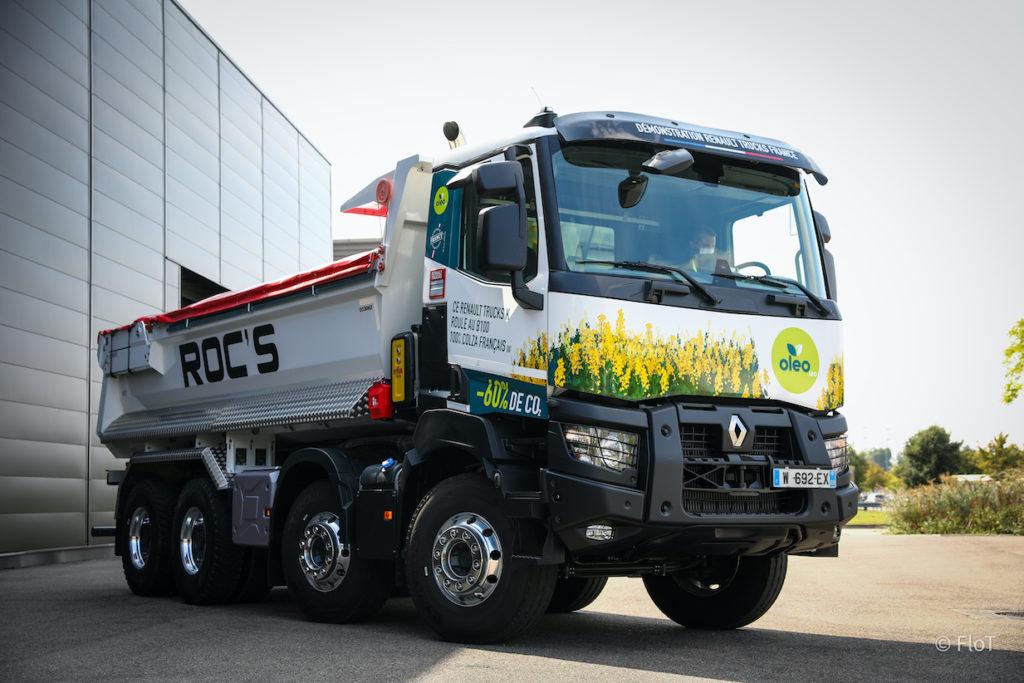 Renault Trucks France et Avril renforcent leur partenariat pour développer le biodiesel
