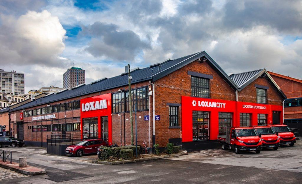 Loxam ouvre une nouvelle agence City à Aubervilliers